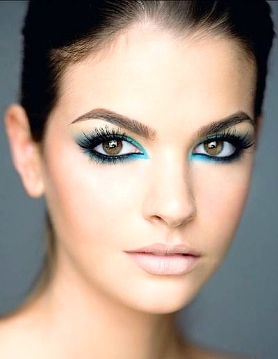 Dark Blue - 7 Makeup Colors for Hazel Eyes ... u2192 ud83dudc84 Makeup