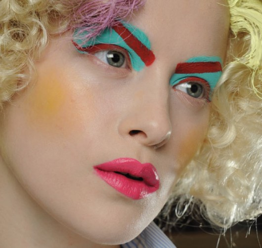 Color Blocked Makeup 7 Weird Makeup Trends To Avoid