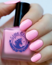 Lime Crime Parfait Day Pastel Pink Nail Polish