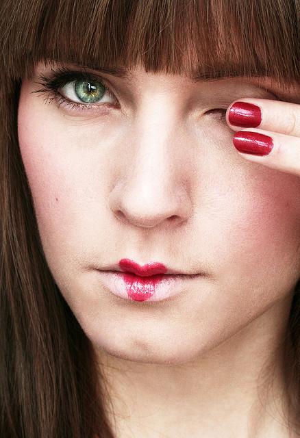 Queen Of Hearts Makeup Lips