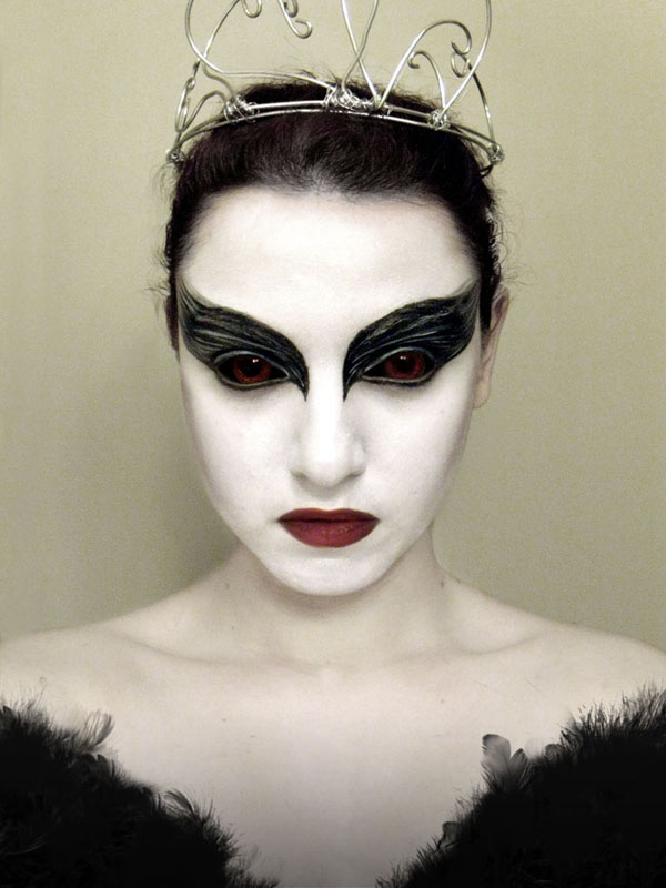 Black Swan - 9 Incredibly Dramatic Makeup Looks To Try ... U2026