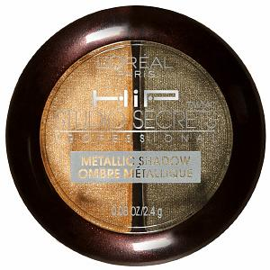 L'Oreal HiP Studio Secrets Professional Metallic Shadow Duo in Shocked