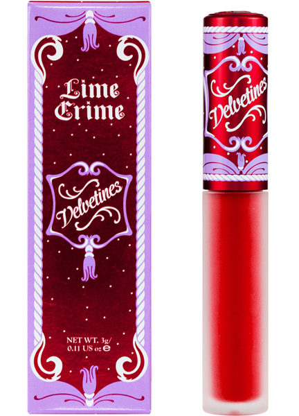 Lime Crime - Velveteens in Red Velvet