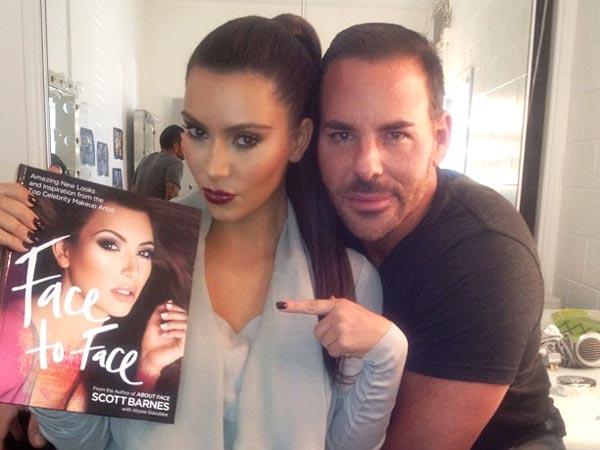 Scott barnes makeup artist