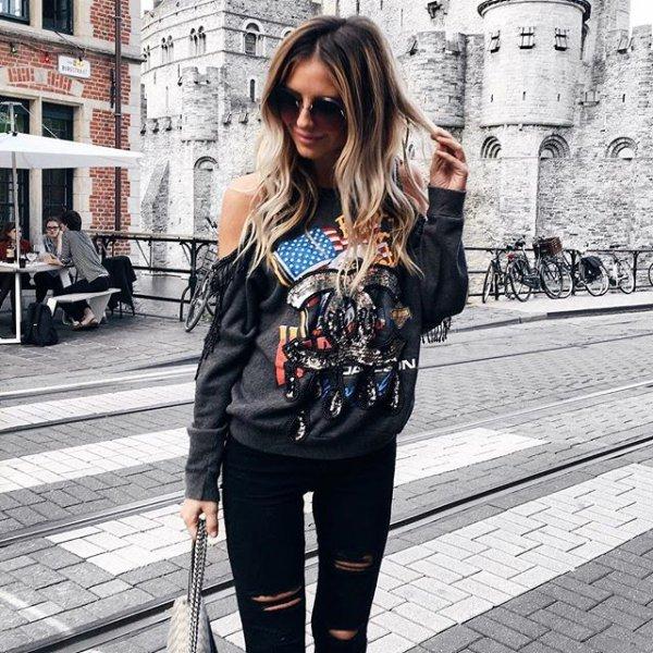 Gravensteen, clothing, black, footwear, street,