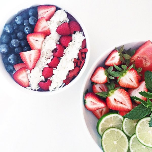 food, strawberry, plant, produce, strawberries,