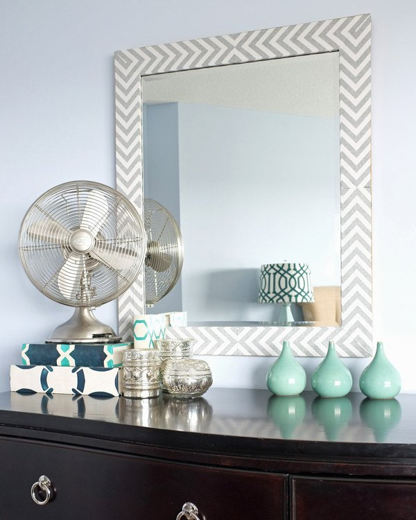 Easily Update a Mirror Frame