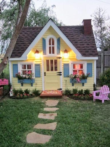 A Grown-up Girl Playhouse!