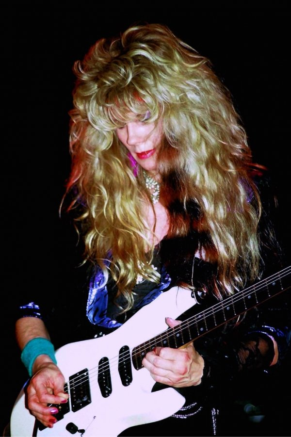 The Late Great Jan Kuehnemund Left Behind Beautiful Solos That Will Rock World For Generations To Come Founder And Lead Guitarist Of Vixen Knew