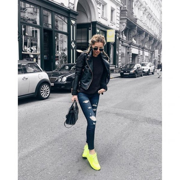 clothing, footwear, sleeve, leather, denim,