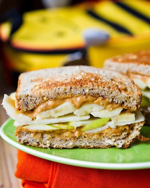 Apple Banana Peanut Butter Sandwich - 21 of the Best Ways to Make…
