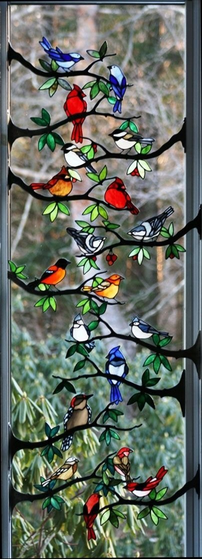 Stained Glass Birds 43 Examples Of Gorgeous Stained