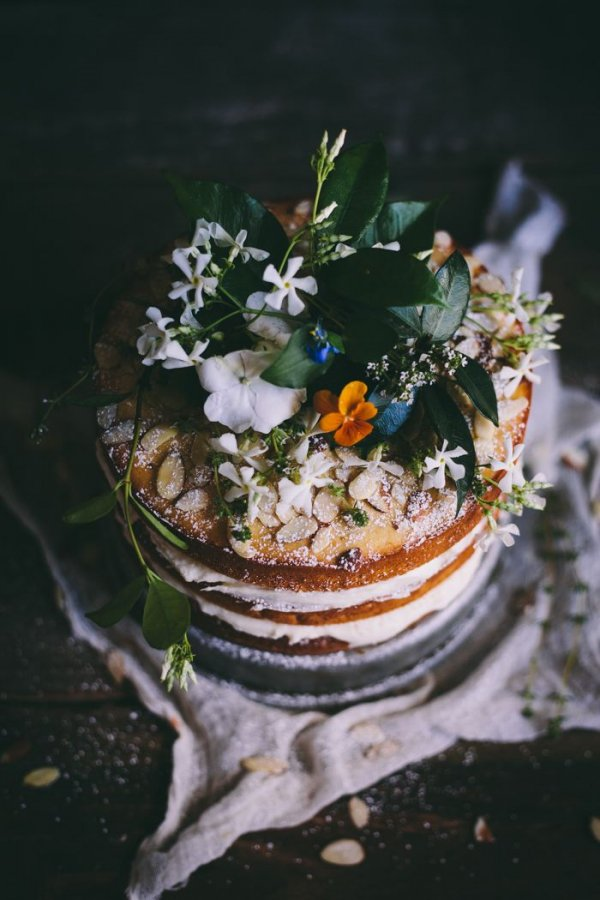 Orange Almond Cake with Orange Blossom Buttercream - 41 Stunning…