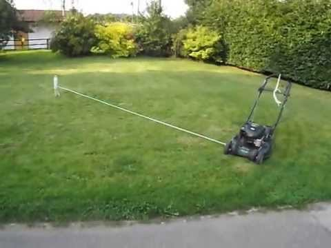 The Only Way to Cut the Lawn