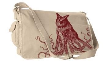 Deadworry Octo-Owl Messenger Bag