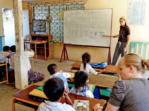 Wrestling with Vocabulary: Teaching English in Cambodia