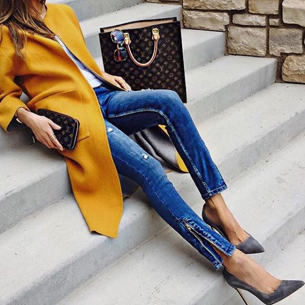 color, yellow, clothing, blue, footwear,