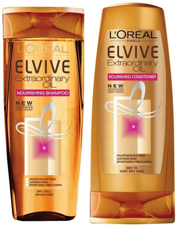 L'oréal Elvive Extraordinary Oil Shampoo and Conditioner
