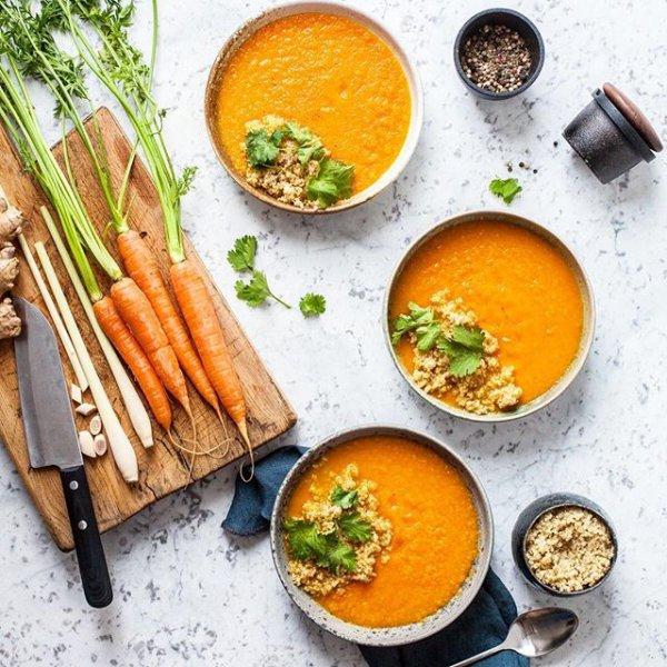 dish, food, carrot, produce, calabaza,