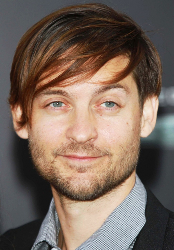 Tobey Maguire - Top 20 Actors with Oh-so-Kissable Lips ... → 🎬… Tobey Maguire