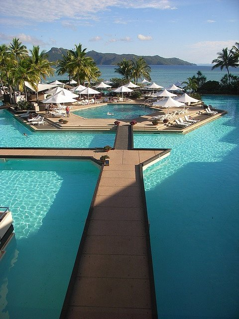 Hayman Island on the Great Barrier Reef, Australia