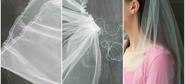 Make a Simple Tulle Veil
