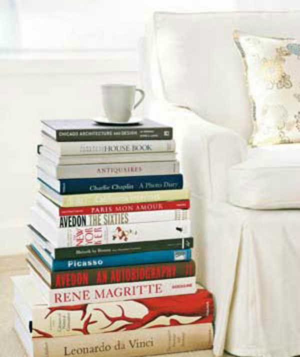 Stack and Use as a Side Table