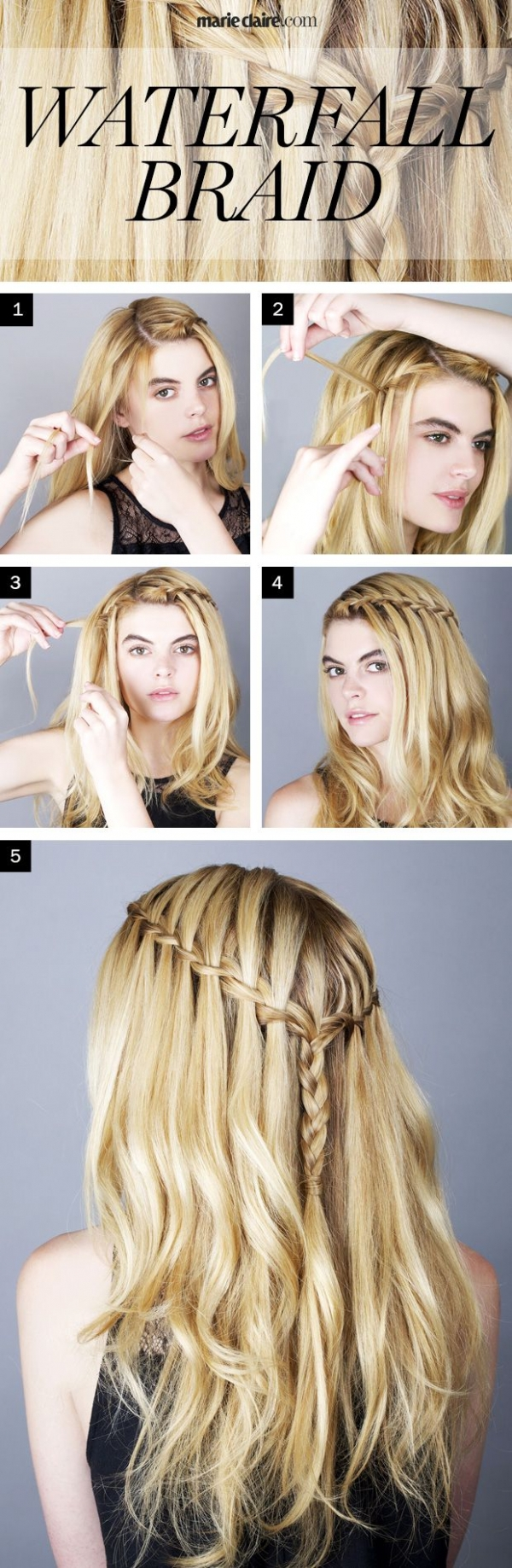 11. Waterfall Braid - Fuel Your Braid Obsession