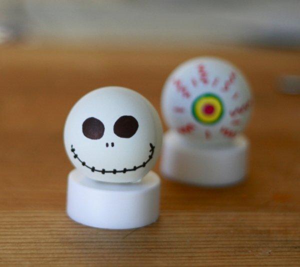 halloween tea lights - Halloween Ping Pong Balls