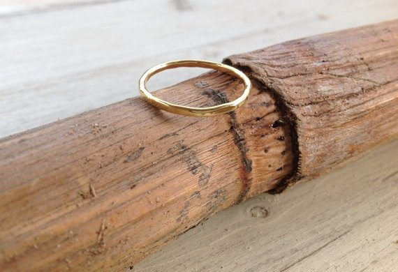 Simple Gold Bands