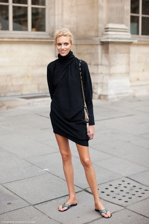 LBD of the Turtleneck Kind