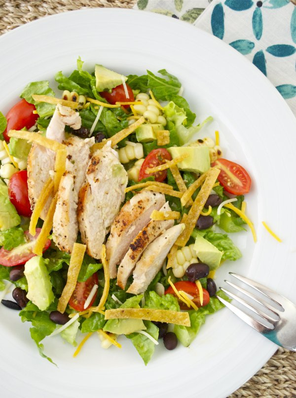 Weight Watchers Santa Fe Salad with Chile-Lime Dressing