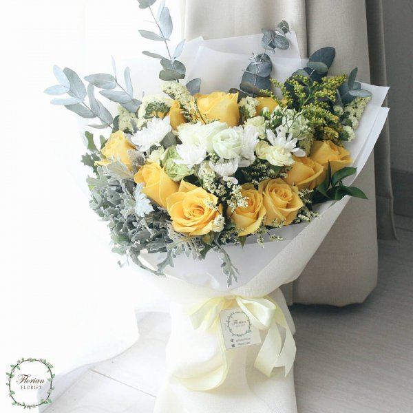 flower arranging, flower, white, flower bouquet, yellow,