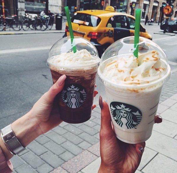 Starbucks, Starbucks, food, ice cream, ice cream cone,