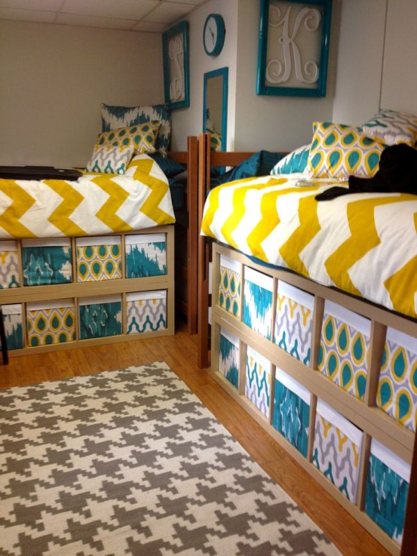 Underbed Storage Can Be Cute and Functional at the Same Time