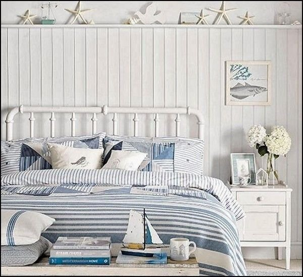 Choose Blue and White Striped Bedding