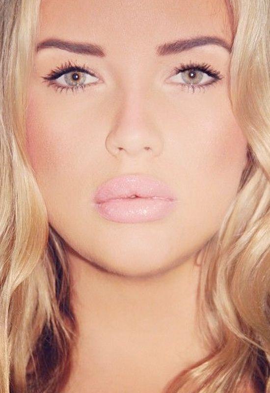 Pink Makeup: Makeup Trend: 21 Pale Pink