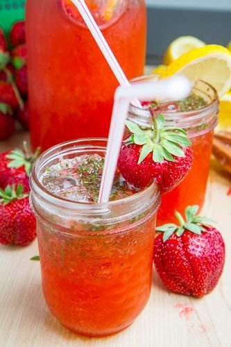 drink,strawberry,produce,plant,strawberries,
