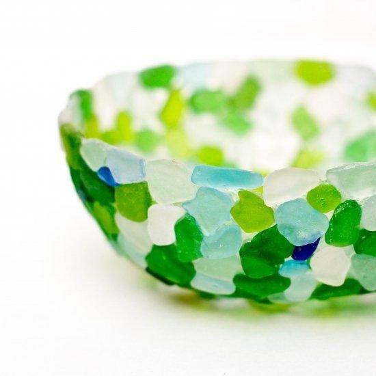 Easy Sea Glass Bowl