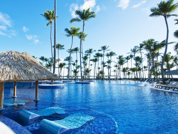 Barcelo Bavaro Beach Resort and Palace Deluxe in Dominican Republic