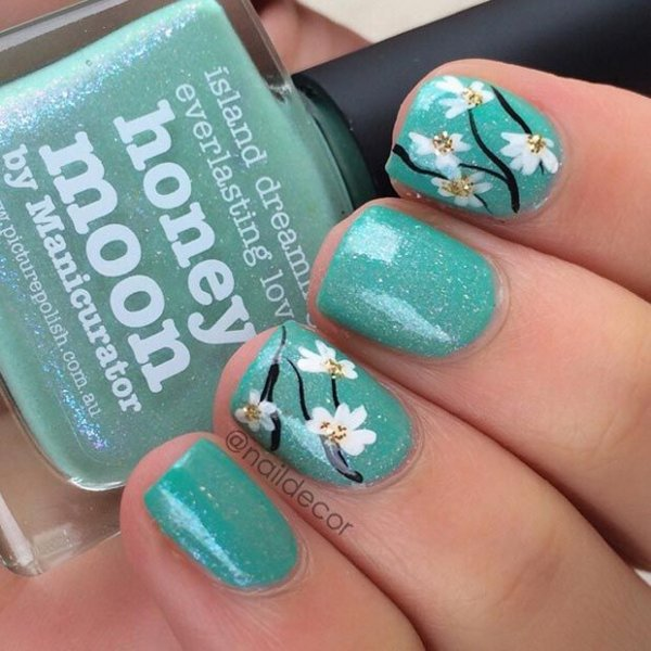 nail,finger,green,blue,nail care,