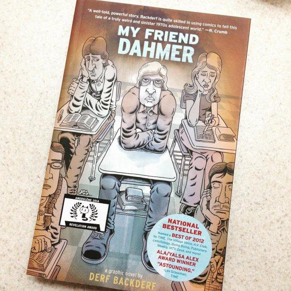 My Friend Dahmer, font, comic book, comics, brand,