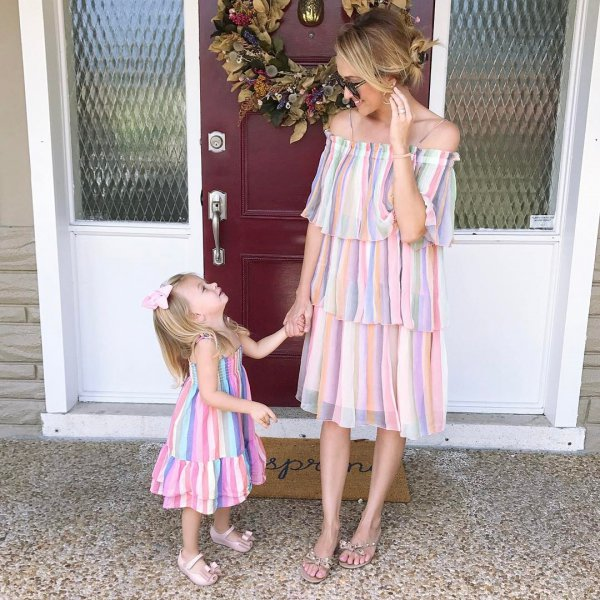 dress, clothing, pink, toddler, child,