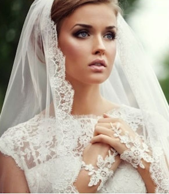 Close up of the Veil