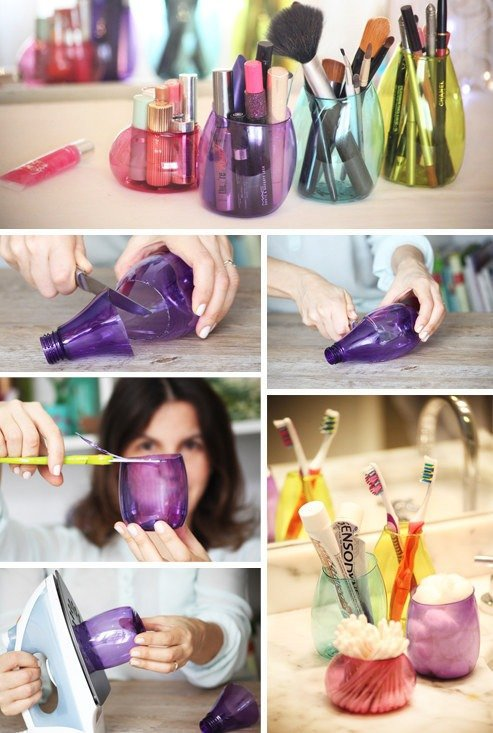 Old Plastic Bottles