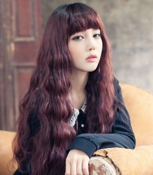 26. Blunt Bangs - Hairstyles for Super-Long Hair, Think Rapunzel ...