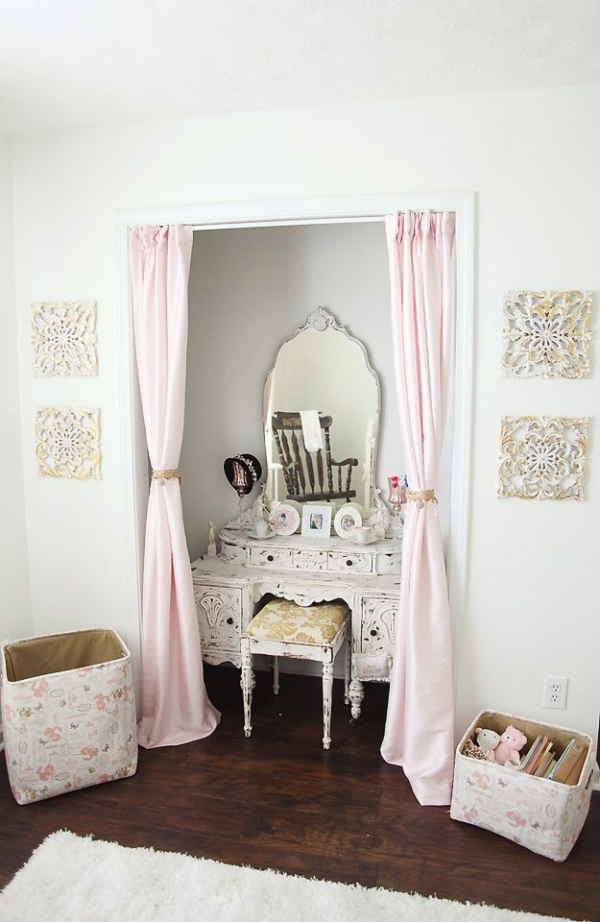 Curtain Call Find Your Fantasy Makeup Room Inspiration