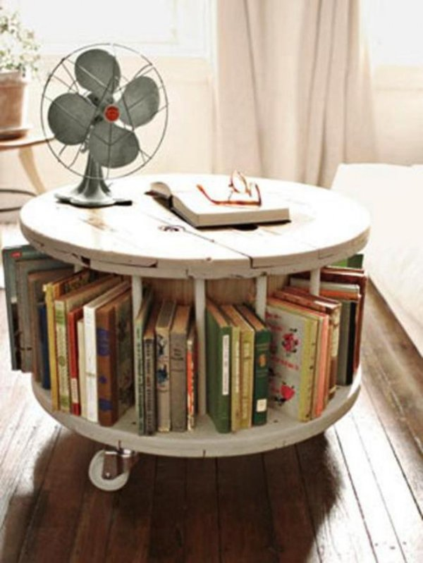 You Need a Cable Spool and Some Ikea Castors