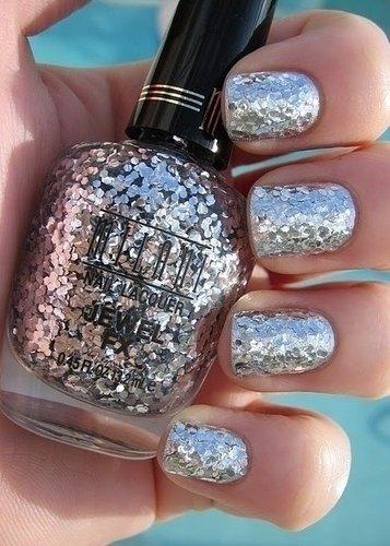 Glitter Polish Removal