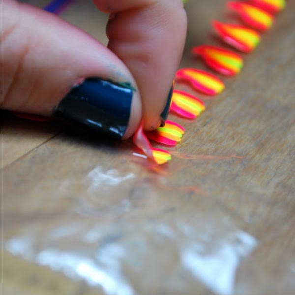 7 nail art tips and tricks nails 1 plastic bag designs prinsesfo Gallery